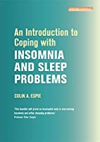 Introduction to Coping with insomnia and…