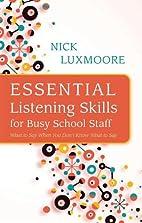 Essential Listening Skills for Busy School…