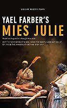 Mies Julie: Based on August…
