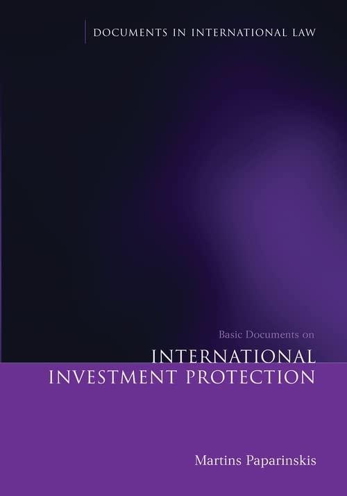 basic-documents-on-international-investment-protection-documents-in-international-law