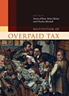 Restitution of Overpaid Tax (Hart Studies in…