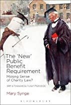 The 'New' Public Benefit Requirement: Making…