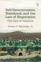 Self-determination, statehood, and the law…