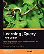 Learning jQuery, Third Edition by Jonathan…