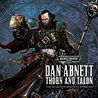 Thorn and Talon by Dan Abnett