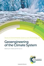 Geoengineering of the Climate System (Issues…