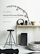 Monochrome Home: Elegant Interiors in Black…