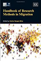 Handbook of Research Methods in Migration by…