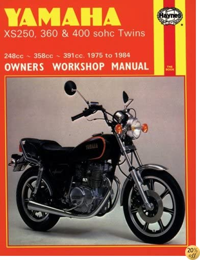 Yamaha XS250, 360, 400 sohc Twins '75'84(Haynes Manuals)