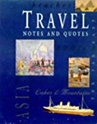 Travel Notes And Quotes (Gift Stationary) by…