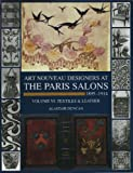 Duncan, Alastair: Art Nouveau Designers at the Paris Salons, 1895-1914: Textiles/Leatherware