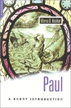 Paul: A Short Introduction by Morna D.…