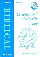 Scripture and Authority Today (Biblical) by…