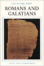 The Navarre Bible: Romans and Galatians (The…