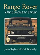 Range Rover: The Complete Story (Crowood…