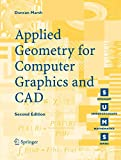 Marsh, Duncan: Applied Geometry For Computer Graphics And CAD