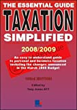 Jones, Tony: Taxation Simplified 2008/2009