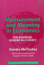 Measurement and Meaning in Economics: The…