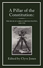 A Pillar of the constitution : the House of…