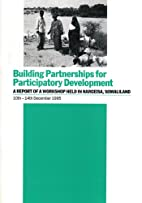 Building partnerships for participatory…