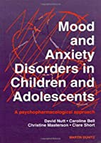 Mood and Anxiety Disorders in Children and…