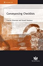 Conveyancing checklists by Frances Silverman