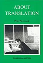 About Translation (Multilingual Matters,…