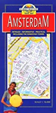 Amsterdam Travel Map by Globetrotter
