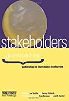 Stakeholders : government-ngo : partnerships…