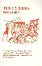 Thucydides: Book III-V (Classical Studies…
