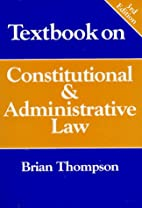Textbook on Constitutional and…
