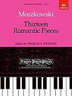Thirteen Romantic Pieces (Easier Piano…