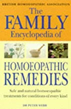 The Family Encyclopedia of Homoeopathic…