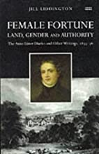 Female Fortune: Land, Gender and Authority…