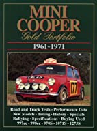 Mini Cooper 1961-71 Gold Portfolio by R.M.…