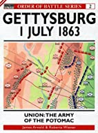 Gettysburg July 1 1863: Union: The Army of…