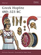 Greek Hoplite 480-323 BC by Nicholas Sekunda
