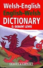 Welsh-English English-Welsh Dictionary by D.…