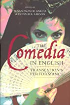 The Comedia in English: Translation and…