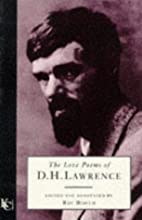 The Love Poems of D.H. Lawrence by D. H.…
