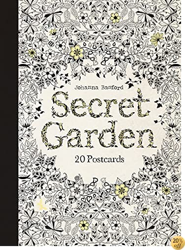 TSecret Garden: 20 Postcards