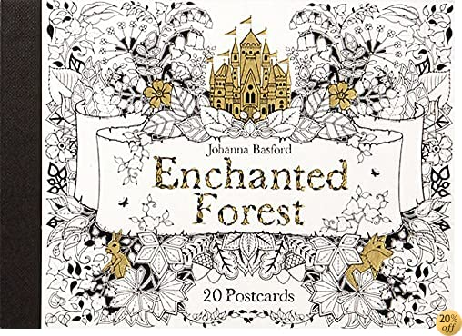 TEnchanted Forest Postcards: 20 Postcards