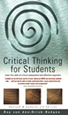 Critical Thinking for Students: Learn the…