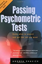 Passing Psychometric Tests by Andrea Shavick