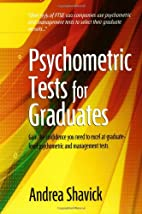 Psychometric Tests for Graduates by Andrea…