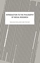 An Introduction to the Philosophy of Social…