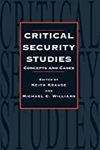 Critical Security Studies: Concepts And…