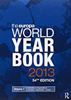 The Europa world year book 2013. by Europa…