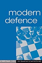 Modern Defence (Everyman Chess) by Jon…