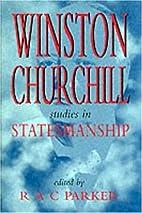 Winston Churchill Studies in Statesmanship:…
